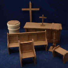 scale church items